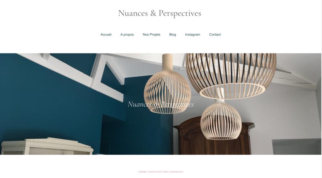Nuances & Perspectives Bordeaux - Création de Sites Internet