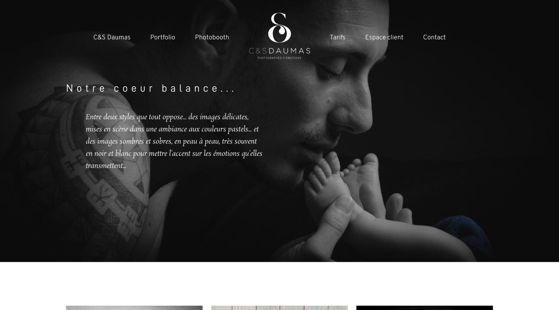 C&S Daumas - Création site internet