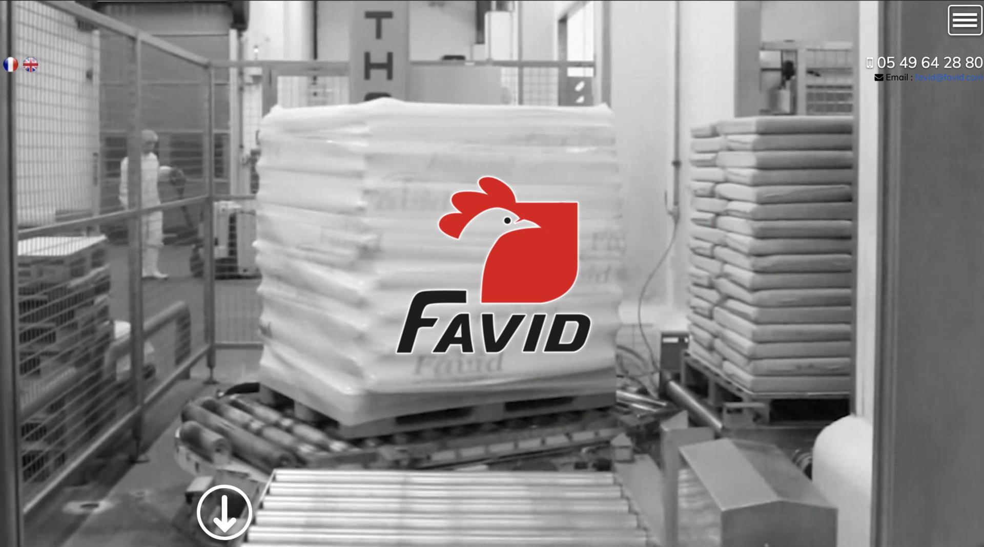 Favid - Création site internet
