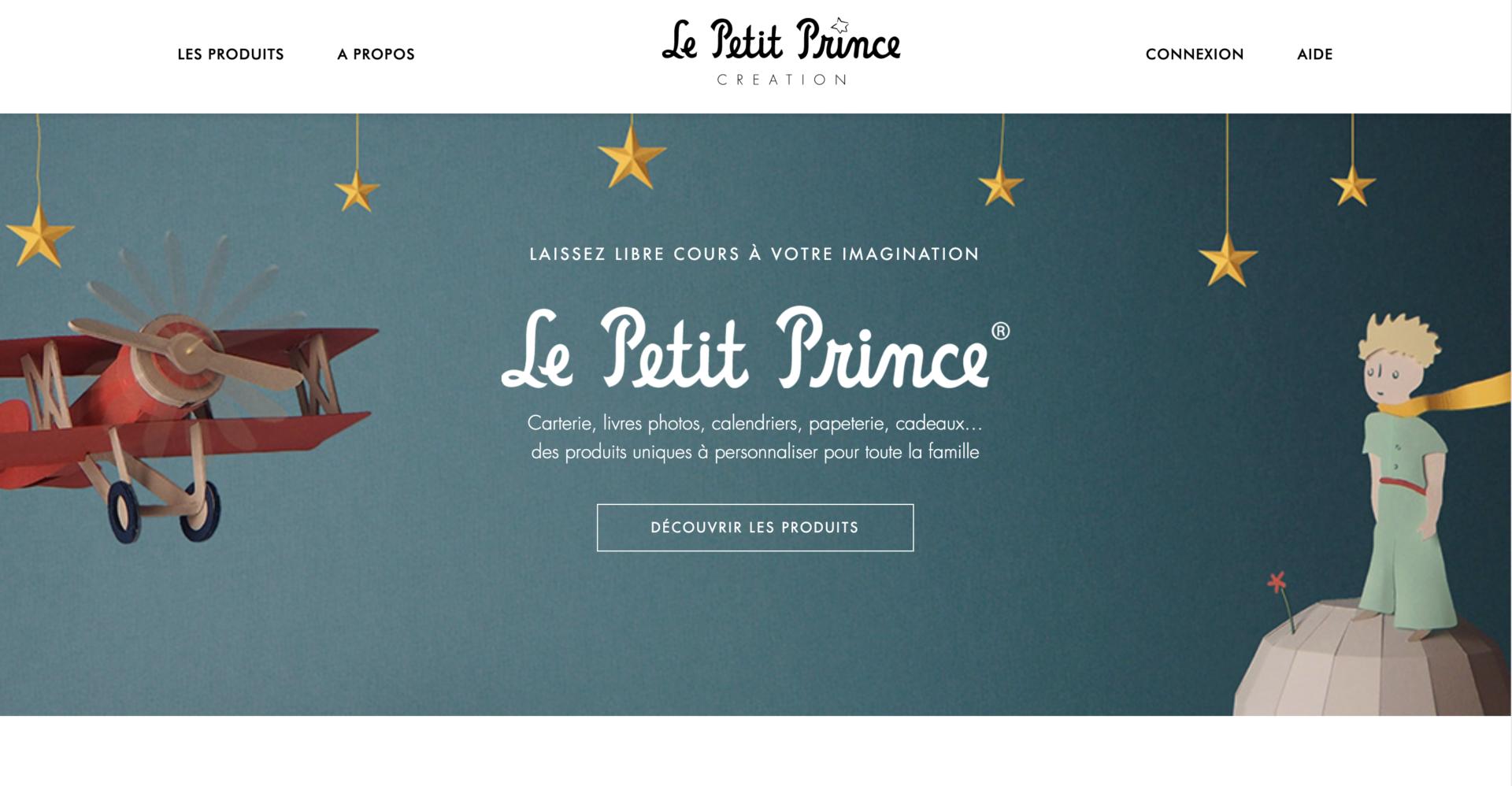 Le Petit Prince Création - Création site internet