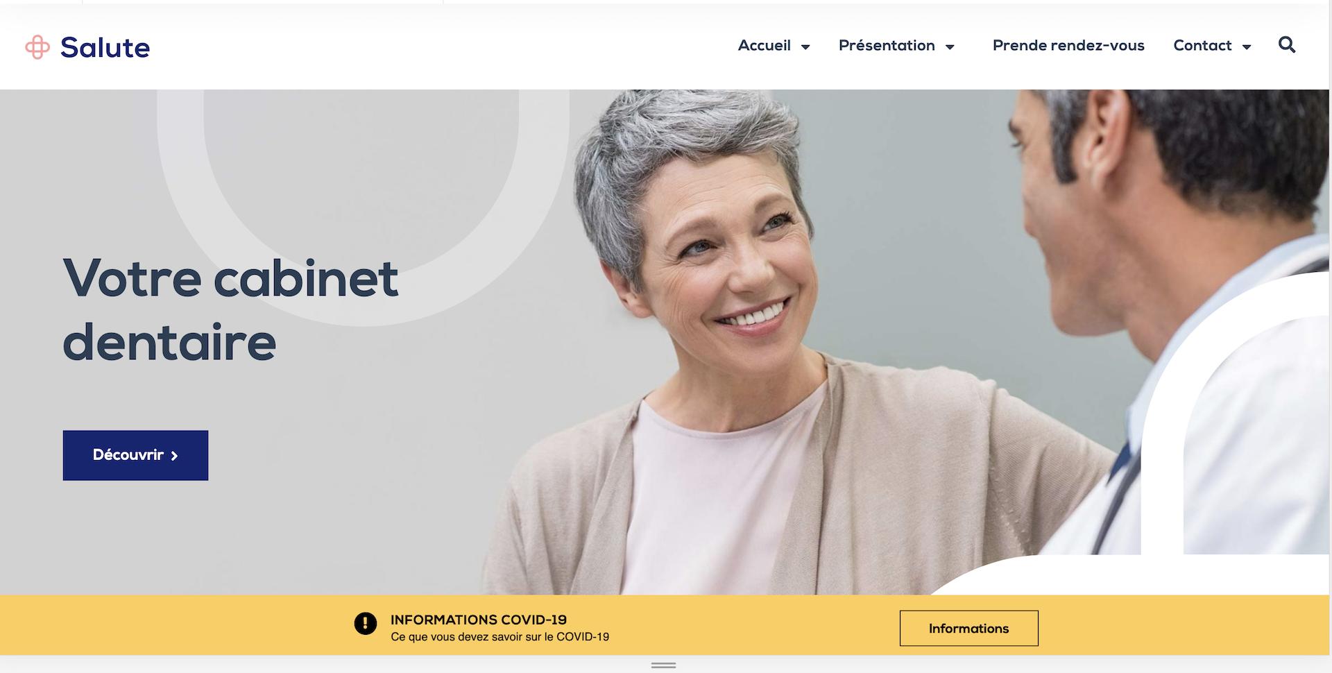 Création site internet Dentiste à 1600€ - Geoffrey Leduc