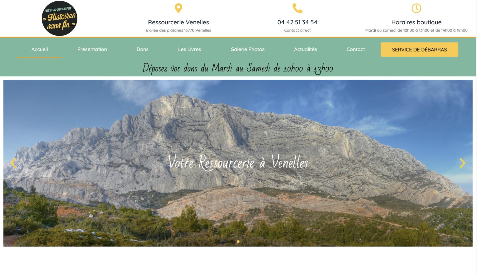 Histoire Sans Fin - Création site internet Aix en Provence - Geoffrey Leduc