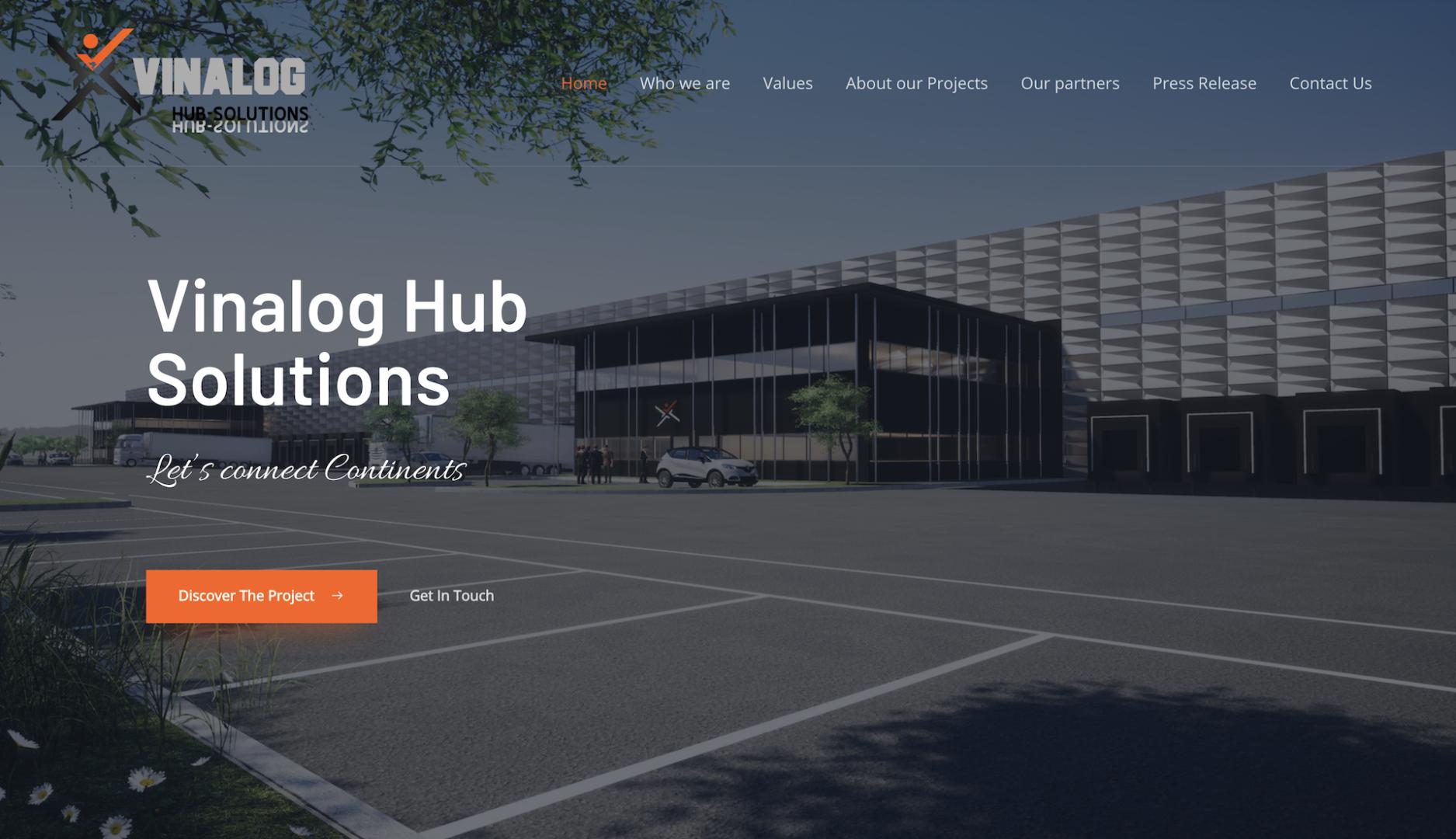 Vinalog Hub Solutions - Création site internet