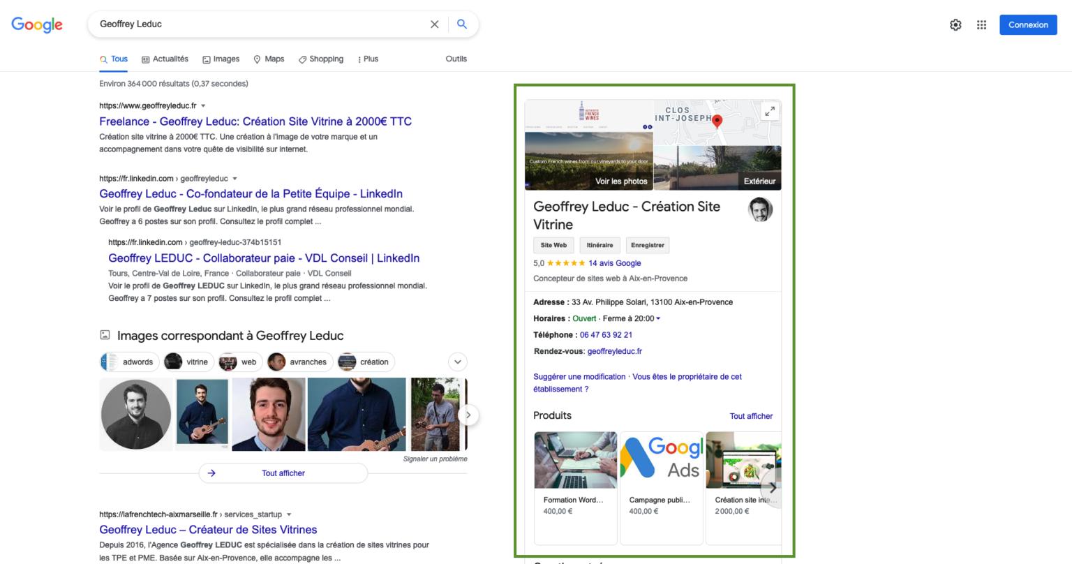 Référencement Local Avocat - Google My Business - Création site internet Avocat